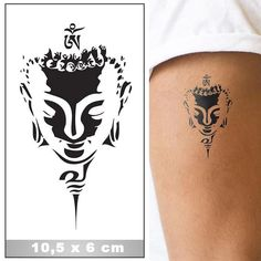Tête de bouddha - Tête de bouddha You are in the right place about Tête de bouddha Tattoo Design And Style Galleries - Buddhist Symbol Tattoos, Hindu Tattoos, Buddha Tattoo Design, Shiva Tattoo Design, Marquesan Tattoos, Irezumi Tattoos, Bhudda Tattoo, Small Tattoos, Tattoos For Guys
