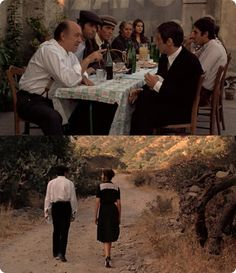 Scenes from the Godfather - in Sicily.. this scene when she trips & falls in her heels & he grabs her...<3 :) #GodfatherFangirling lol