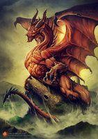 Ddraig Goch by Chaos-Draco