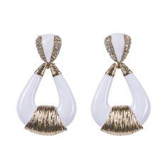 We're all ears! THE LOT accessories range features some elegant, edgy, and a trendy mix of earring designs- there is a style for every occasion and mood! Features: Material: nickle metal, circle stud design/chandelier, colour: White/ Gold, size: U, not suitable for swimming The Tribe Has Spoken, Pearl Earrings, Drop Earrings, Designer Earrings, Ears, White Gold, Chandelier, Swimming, Range