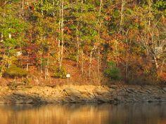 Fall on Lake Wedowee, Alabama