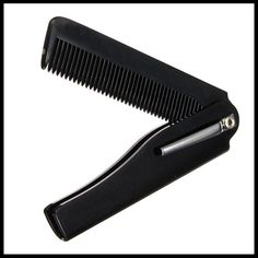 New Style 1pcs Hair Beauty Folding Moustache & Beard Comb Hand Made Tools For Men Women