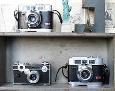 Vintage camera Love // Etsy