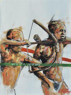 Mak Ramono - Khoisan Men Hunting