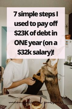 The Unconventional Pursuits Blog | How this I Paid Off Over $20K in Student Loan Debt in Seven Simple Steps and How You can too! #debtfree #millennialinvestor