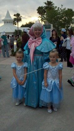 "As ""Fairy Godmother"" to the Whitfiled girls, I should make this costume!"