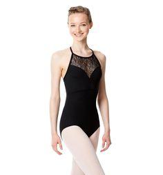 LULLI エディス ワイルドメッシュホルターネックレオタード LUF475  #レオタード #バレエ #リュリ #LulliDancewear #ballet #leotard #balletskirt