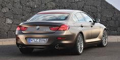 BMW 6 Series Gran Coupe Rear body