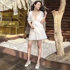 95d45aacca 14 mejores imágenes de Vestidos blancos de algodón