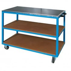 This heavy duty mobile workbench and cupboard unit is suitable for all applications including production, servicing and maintenance areas.