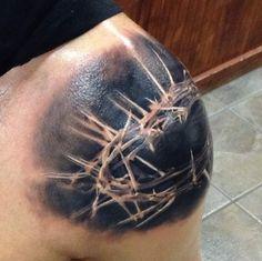 crown-thorns-tattoo.jpg (635×633)