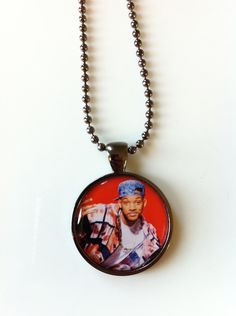 @Bonnie S. Marie Fresh Prince Pendant Necklace. $15.00, via Etsy.