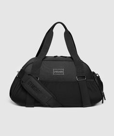 Gymshark Lifestyle Holdall - Black   Men's & Women's Gym Bags   Gymshark Small Sports Bag, Mini Lifestyle, Sock Shop, Gym Style, Gym Wear, Black Men, Bag Accessories, Shopping Bag, City