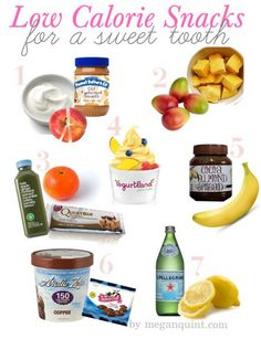 healthy low calorie snacks for a sweet tooth