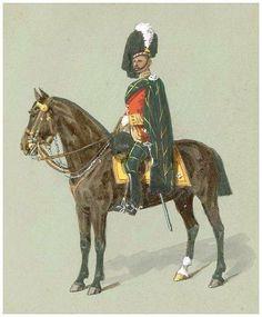The 92nd (Gordon Highlanders) Regiment - Lieutenant-Colonel in review order c1878