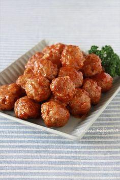 【合いびき肉】揚げないミートボール by 藤原朋未 | レシピサイト「Nadia | ナディア」プロの料理を無料で検索