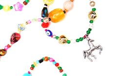 RandomJane colorful beaded hippie style glasses chain with a horse dangler made in Vienna Hippie Style, Bracelet Making, Vienna, Chains, Horse, Beaded Bracelets, Colorful, Glasses, Trending Outfits