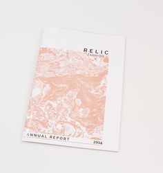 Relic Fashion Identity and Annual Report on Behance
