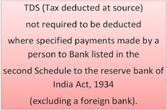 Income Tax: No deduction of tax deducted at source (Section 19...