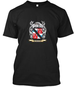 Almonte Family Crest   Almonte Coat Of A Black T-Shirt Front - This is the perfect gift for someone who loves Almonte. Thank you for visiting my page (Related terms: Almonte,Almonte coat of arms,Coat or Arms,Family Crest,Tartan,Almonte surname,Heraldry,Family Reunio #Almonte, #Almonteshirts...)
