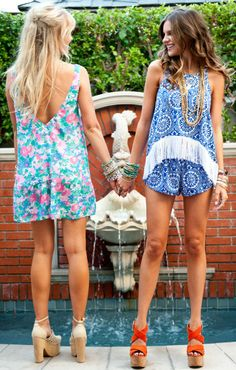 Romper on the right