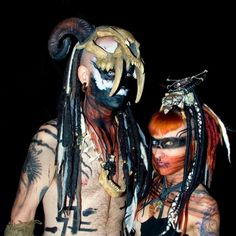 Hey Bailey, check out this Witch Doctor - amazing! Doctor Halloween Costume, Voodoo Costume, Voodoo Halloween, Tribal Costume, Halloween 2015, Couple Halloween Costumes, Halloween Cosplay, Grandeur Nature, Horror