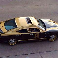 New Orleans Saints car