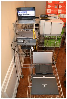 Charging station for off-site workers  Laptops and ultrabooks allow mappers to work at home at their leisure. Time otherwise spent commuting is available for production. And snow days do not delay schedules!
