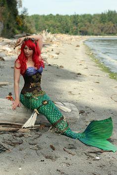 Steampunk Ariel | Community Post: The Little Mermaid -- IRL #disney #cosplay #disneyprincess
