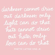 In honor of Martin Luther King, Jr. Day