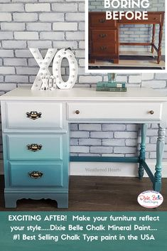 Dixie Belle Paint Turquoise Painted Furnituredixie