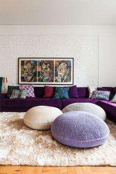 cor ultra violet na decoração 1
