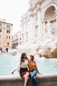 Don't know how they managed to get this photo because the Trevi Fountain is always packed, but I love it without all the people in the background! Lucky!