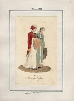 Ladies' Museum, March 1803.