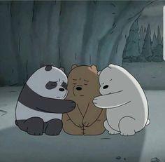 We Bare Bears Comfort Cute Panda Wallpaper, Cartoon Wallpaper Iphone, Bear Wallpaper, Cute Disney Wallpaper, Ice Bear We Bare Bears, 3 Bears, Cute Bears, We Bare Bears Wallpapers, Panda Wallpapers