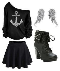 """""""Outfit Idea by Polyvore Remix"""" by polyvore-remix ❤ liked on Polyvore featuring BERRICLE"""