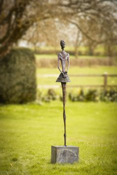 #Bronze and #portland #stone #sculpture by #sculptor Sara Ingleby-MacKenzie titled: 'Daiquiri'. #SaraInglebyMacKenzie