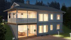 Huset optimalt på tomten - Kastelli Home Fashion, Shed, Farmhouse, Outdoor Structures, Mansions, House Styles, Villa, Building, Houses