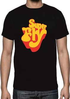 eab875f2bd9c Superfly T-shirt - 70's Movie, Cult Classic, Curtis Mayfield, Various Sizes /Cols