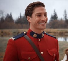 That smile!!! Mountie Jack Season 2 #WCTH #Hearties #WhenCalssTheHeart