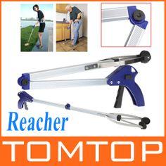 $9.95 Latest find Foldable Pick Up Grabber Gripper Reacher Kitchen Litter Reaching Picker Help Hand Tool,