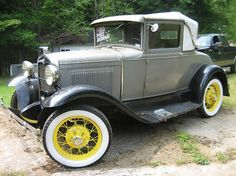 Ford : Model A Original 1930 Ford Model A Sport Coupe - http://www.legendaryfind.com/carsforsale/ford-model-a-original-1930-ford-model-a-sport-coupe/