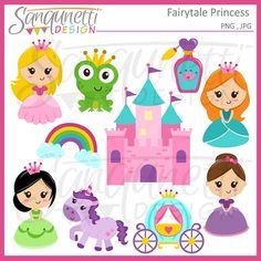 Imágenes Prediseñadas de la princesa princesa por SanqunettiDesigns