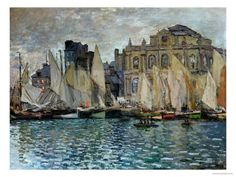 View of Le Havre, 1873 Giclee Print by Claude Monet at Art.com