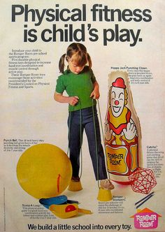 1972 Vintage Romper Room TV Show Toy Advertisement 1970s by Christian Montone, via Flickr