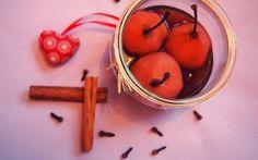 Rotwein Gewürz Birnen Moscow Mule Mugs, Vegan Desserts, Fruit, Vegetables, Tableware, Food, Fried Apples, Nth Root, Vegane Rezepte