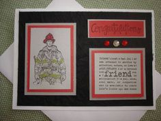 Fire Brigade Retirement by MilesOfSmiles - Cards and Paper Crafts at Splitcoaststampers