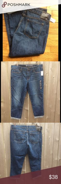 Gap Factory Sexy Boyfriend Fit Jeans Brand new with tags. Mid rise, relaxed through hip & thigh. Size 10/30 short. Gap Factory Jeans Boyfriend