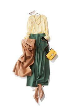 スタイリスト横山麻里さん発!きれい色で春先取りコーデ|Today's Pick Up|ユニクロ Muslim Fashion, Modest Fashion, Hijab Fashion, Fashion Outfits, Womens Fashion, Casual Work Outfits, Classy Outfits, Chic Outfits, Japanese Fashion