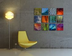 Peter Lik, mini gallery wall Gives modern city home burst of color Peter Lik Photography, Stunning Photography, Fine Art Photography, Modern Interior Design, Interior Design Inspiration, Example Of Abstract, Beautiful Houses Interior, Decorative Accessories, Decorative Items